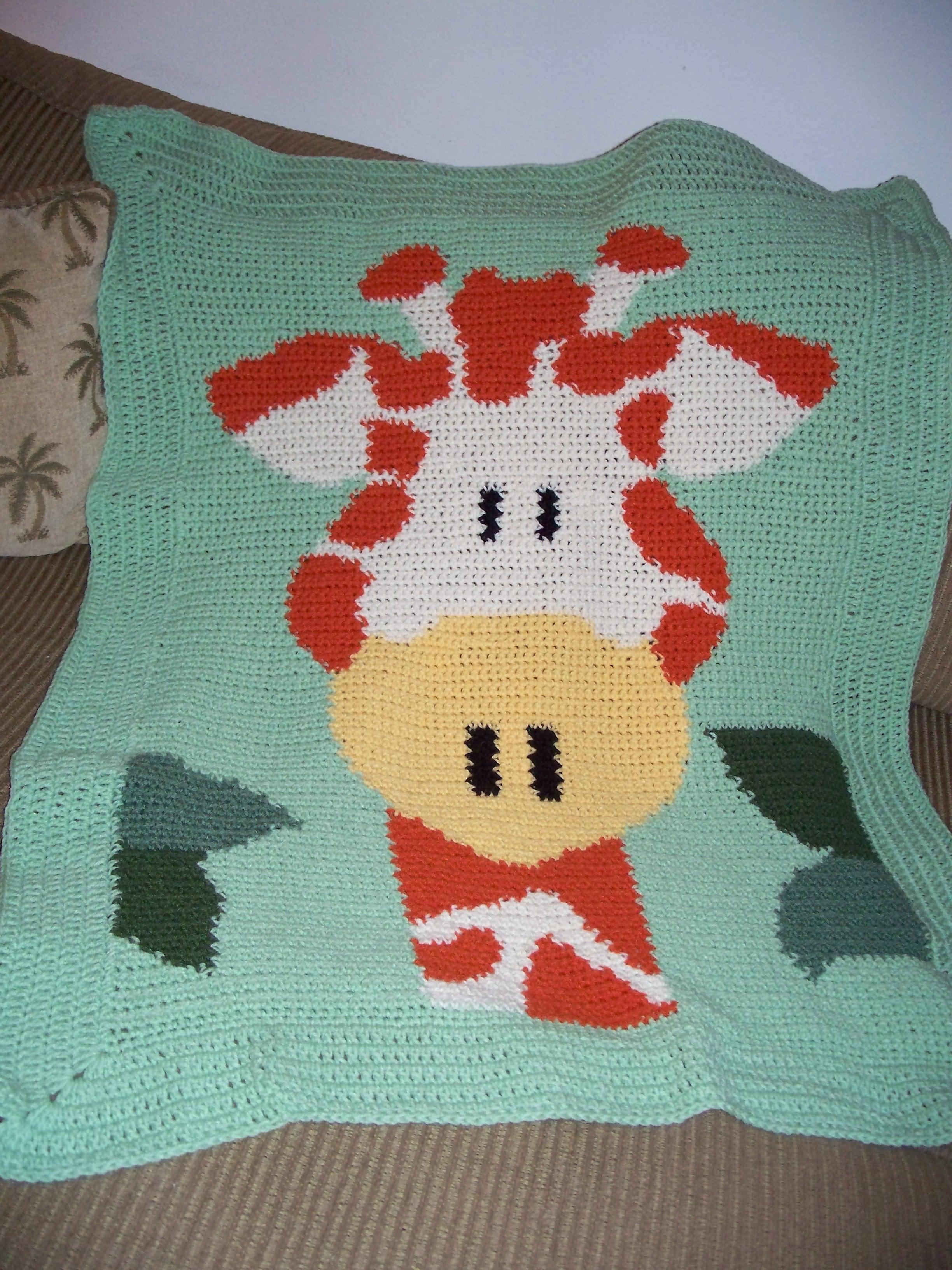 Free Crochet Pattern Giraffe Blanket : Judy Bs Crochet Creations