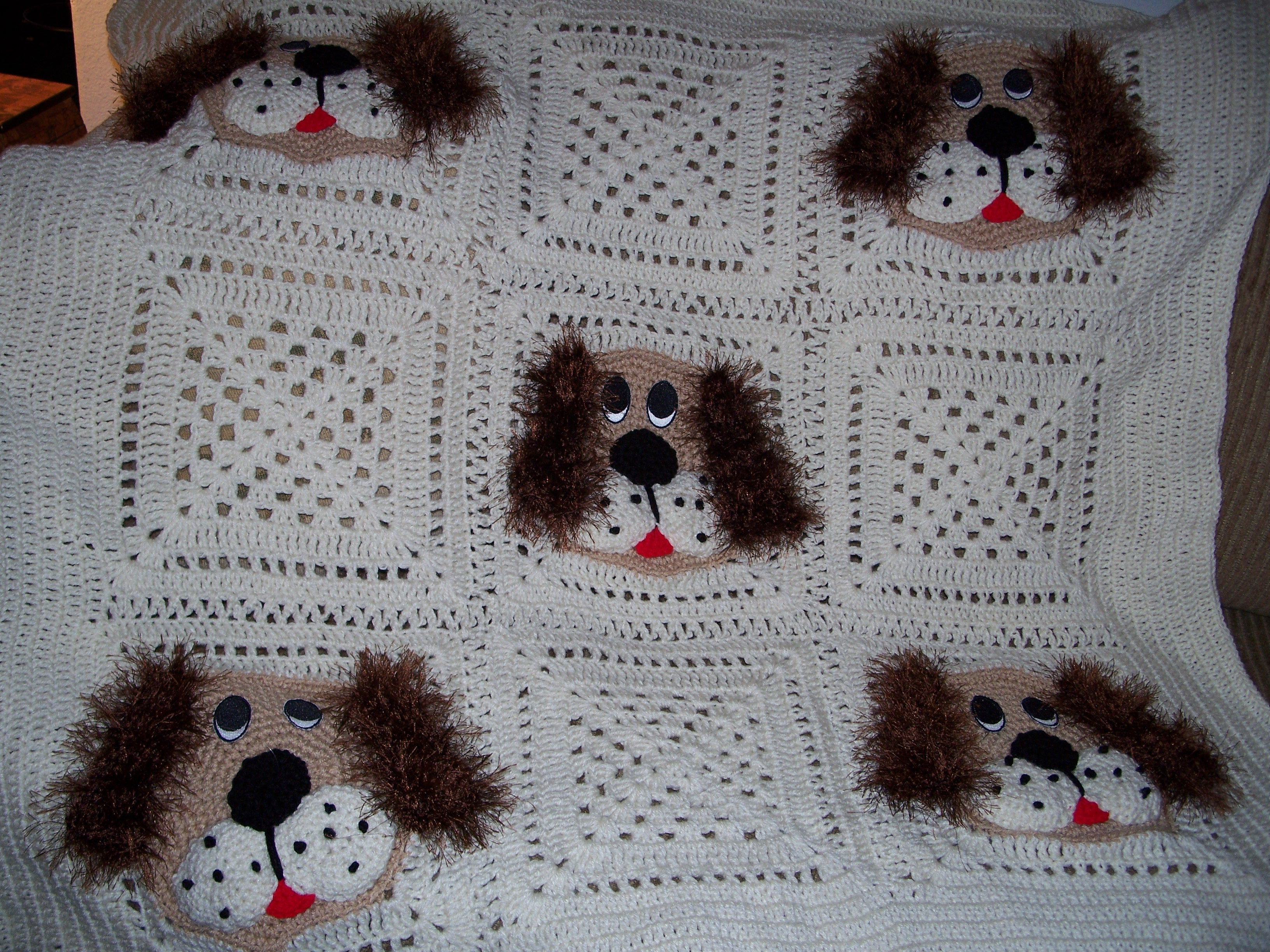 Free Knitting Pattern Dog Blanket : BABY DUCK CROCHET AFGHAN PATTERN Crochet Patterns
